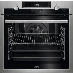 Aeg BPS551220M Single Oven With Pyrolytic Cleaning And Steambake Technology