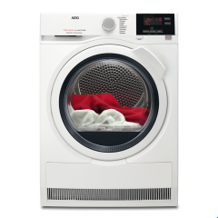 Aeg T7DBG831R 8Kg Heat Pump (Sensidry) Tumble Dryer