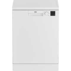 Beko DVN05C20W Full Size Dishwasher 13 Place
