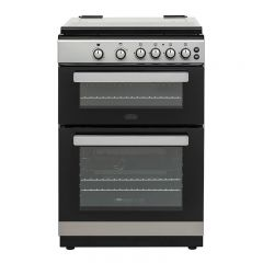 Belling 444444806 Fsg608dc Sil 60Cm Double Oven